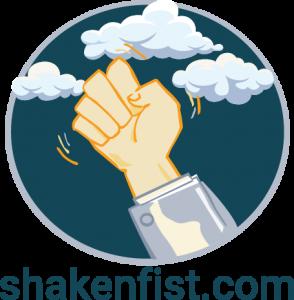 Shaken Fist logo